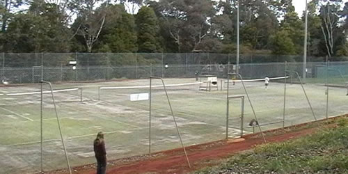 on-site tennis courts